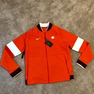 Nike Men's Therma Fit Jacket NWT Clemson Tigers